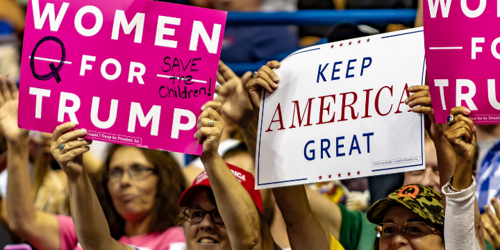 Women for Trump WILKES-BARRE, PA - AUGUST 2, 2018