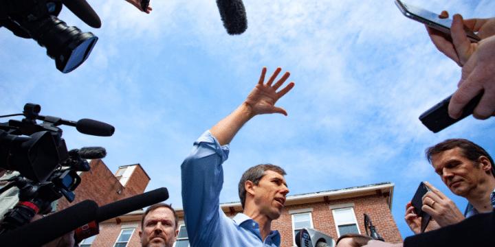 Democratic 2020 U.S. presidential candidate Beto O'Rourke Campaigns in New Hampshire
